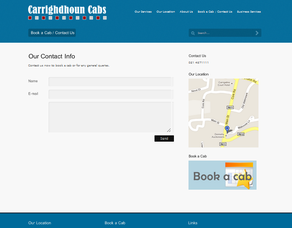 Cork Cabs Contact