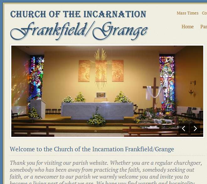 Frankfield Church homepage