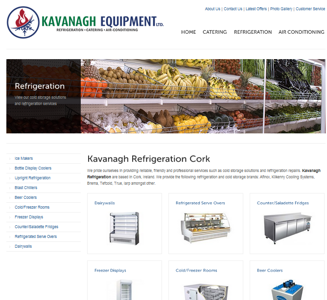 Kavanagh Equipment product page