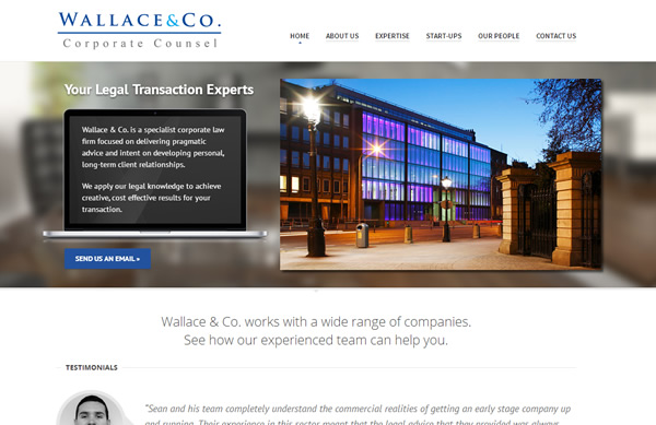 Wallace and Co. website